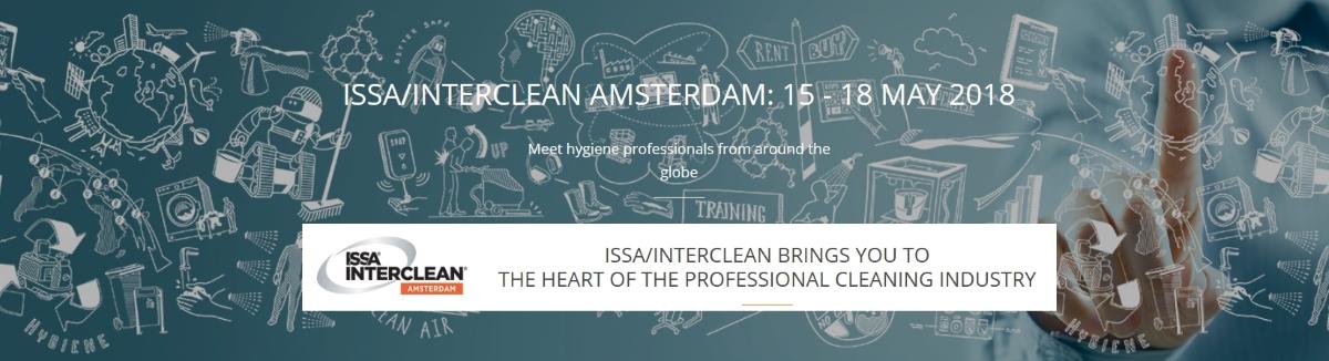 Η παγκόσμια έκθεση καθαρισμού και υγιεινής – ISSA INTERCLEAN Amsterdam 2016