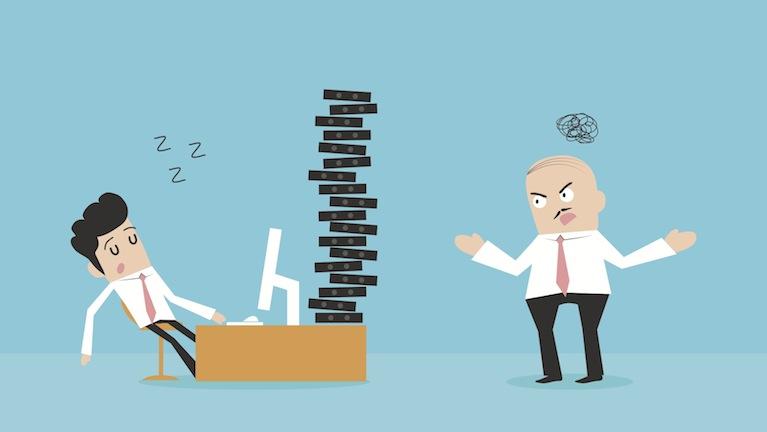 Ο αδιάφορος εργαζόμενος δημιουργεί δυσαρεστημένους πελάτες