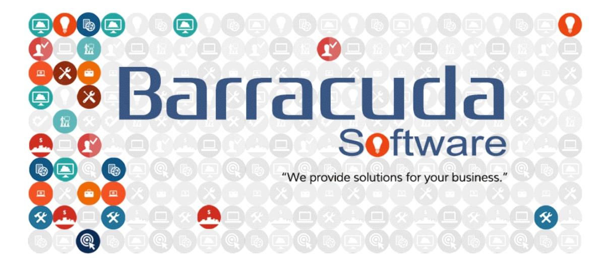 Δελτίο Τύπου Χορηγού | Barracuda Software – Ανάπτυξη Ολοκληρωμένων Μηχανογραφικών Εφαρμογών