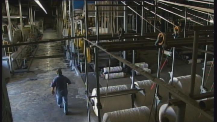 Υφαντουργία, τα σβησμένα φουγάρα στη Νέα Ιωνία (βίντεο)